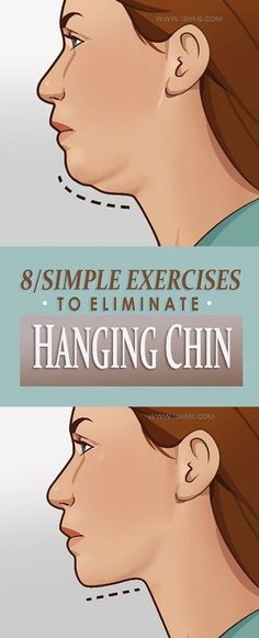 8 Simple Exercises to Get Rid of Hanging Chin