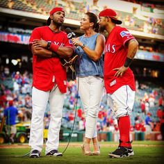 Love this moment.. And these three! #RangersFam (Photo 📷 Official @kellyspics3 IG)