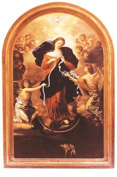 "Prions ""Marie qui défait les nœuds"" #ViergeMarie #Hozana"