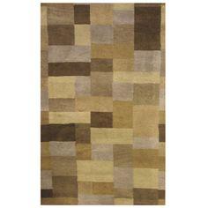 Madrid Wool Brown Area Rug