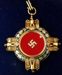 German National Prize for Arts &Sciences Sash Badge