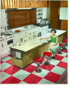 1950s kitchen images | 1950s Kitchen - colorize WIP by ~DaphneShaggyDoo on deviantART