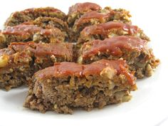 Skinny Meatloaf with Weight Watchers Points | Skinny Kitchen