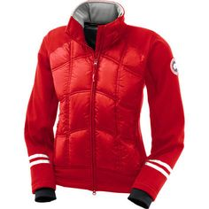 Canada Goose Hybridge Softshell Down Jacket - Women's Red,