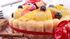 طريقة عمل شارلوت الفواكه - Delicious charlotte aux fruits recipe