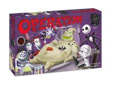 Nightmare Before Christmas Operation Game! Fun to play on halloween w/ kids :) 31 Days Of Halloween, Halloween Party, Halloween Ideas, Halloween Decorations, Nightmare Before Christmas, Operation Game, Creepy Toys, Disney Games, Oogie Boogie