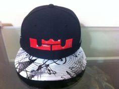 6ff1cd017cf96 Nike Air Lebron 11 Graffiti Hat- Adjustable Cap  Nike Graffiti Caps