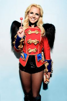 Britney Spears circus ringmaster.