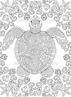 Free Adult Coloring, Printable Adult Coloring Pages, Cute Coloring Pages, Colouring Pics, Animal Coloring Pages, Coloring Pages To Print, Coloring Books, Student Crafts, Zen Colors