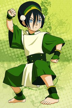 Avatar: The Last Airbender -- Toph Cosplay Costume Version 01 Toph Cosplay, Cosplay Diy, Cosplay Costumes, Cosplay Ideas, Costume Ideas, Avatar Aang, Avatar The Last Airbender, Sailor Scouts, Zuko
