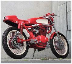1974 Honda CB350 - 'The RedRocker' - Pipeburn - Purveyors of Classic Motorcycles, Cafe Racers & Custom motorbikes