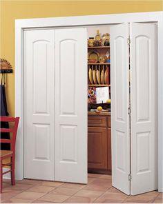 Prefinished \u2013 Natural Colonist Pre Finished Continental Bifold Doors & Continental Signature Interior Door - contemporary - interior ... Pezcame.Com