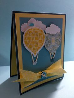 card by Judy Burger using CTMH Chantilly paper