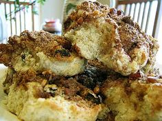 Over-the-Top Cinnamon Streusel Biscuits