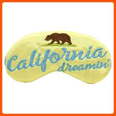 California Dreamin' Sleep Mask - Dont forget to travel (*Amazon Partner-Link)
