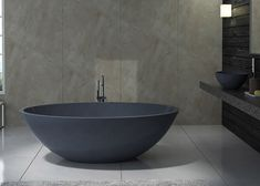 Elegantly Crafted Freestanding Bathtub Produced In Sydney Australia Sophisticated Terrazzo Stone Bathtubs Handmade For