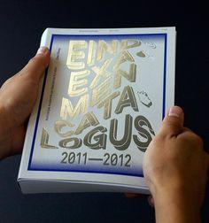 Eindexamencatalogus 2011﹣2012 catalogue / by Tony Van Nierop