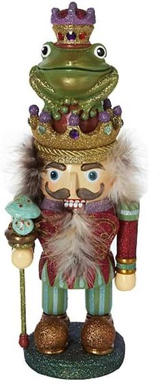 Kurt Adler 15-in. Hollywood Frog Prince Christmas Nutcracker. Click on the image to buy or get more info. #christmas #christmasdecor #ChristmasDecorations - christmas figurines | christmas figurines decoration | christmas figurines xmas | christmas figurines products | Christmas Figurines | CHRISTMAS FIGURINES | Christmas figurines |christmas decorations | christmas decorations for the home | christmas decorations apartment | Christmas Decorations |