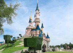 Sleeping Beauty's Castle at Disneyland Paris