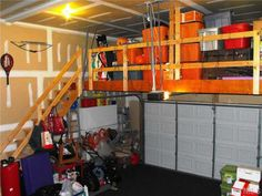 Garage Storage. Way Cool Idea, Reminds Me Of My Uncles Garage.