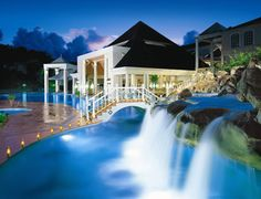 Come in and book your honeymoon with Brenda at Tie-the-Knot bridal.  Where we would like to honeymoon this summer -Sandals La Toc, St. Lucia!  Gorgeous!