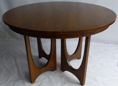 Mid-Century Broyhill Brasilia Dining Table   Chairish