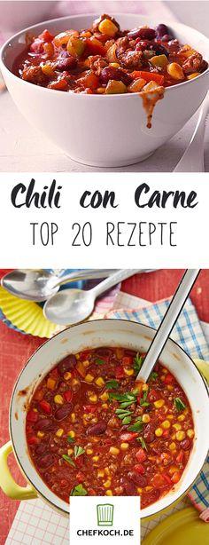 Chili con Carne – feuriger Eintopf, heiß umstritten