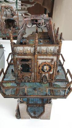 Multi-level city terrain, marine v nid bases (3/21 Water Tower, 2nd platform installed) - Page 16 - Forum - DakkaDakka | Everyone can use more Dakka.