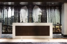 Marriott Brooklyn Bridge Designed By New York Based Boutique Interior Design Firm Krause Sawyer