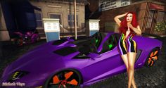 Ride Sally Ride - Roadtrip 3 Location: Vixen's Creative Studios Photographer & Model: Michaela Vixen Set Design & Creation: Michaela Vixen Vixen's Log - More Info & Credits Here Photographic Studio, Creative Studio, Vixen, Second Life, Set Design, Fashion Pictures, Sally, Studios, Road Trip