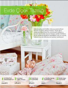 My Style My House- Evmanya dergi incelemesi - Çiçekler