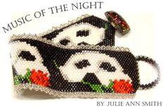 MUSIC OF THE NIGHT PEYOTE BRACELET PATTERN AT SOVA-ENTERPRISES.COM