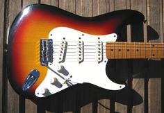 79 Tokai Springy Sound 57 Burst ~ Strat-O-Blogster Guitar Blog