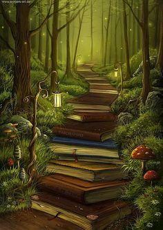 Bazen bir ormanda yol göstericiniz olur.