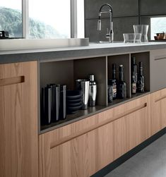 Stosa Cucine: arredamento per modelli di cucine moderne Mood