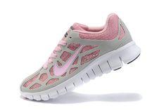 Pink Nike Free Run 3 Breathable Mesh Sko Damer 56933