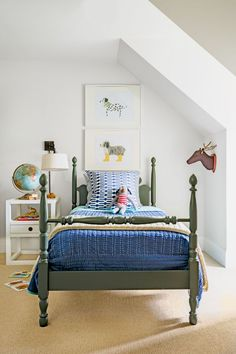 boys bedroom ideas - Looking for boys' bedroom ideas? We've selected our favourite design schemes for boys, from stylish nurseries to practical teenage dens.