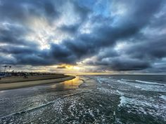 Photo of another beautiful sunrise in mid February from the Newport Beach Pier. Newport Beach Pier, Beautiful Sunrise, February, California, Clouds, Mountains, Sunset, Landscape, Photos