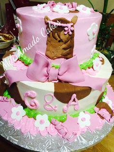 Beatiful cake! #pink #horse #cutedetails