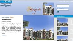Skyline Builders Bangalore assures magnificent homes with privacy aplenty at Skyline magnolia.