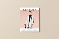Inspired by the Color on the Cover of this season's Kinfolk Magazine. I think a warm and natural mauve color is a nice color for February