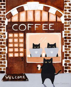The Coffee Shop - Ryan Conners - Kilkenny Cats
