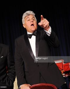 Comedian Jay Leno speaks during the White House Correspondents' Association Dinner at the Washington Hilton May 1, 2010 in Washington, DC.