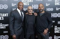 """Dr. Dre and Jimmy Iovine attended the premiere of their new HBO documentary, """"The Defiant Ones,"""" at the Time Warner… – @UPI Photo Gallery"""