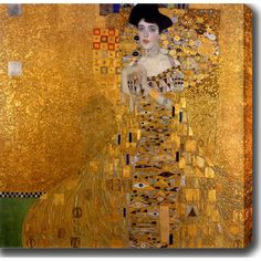 <li>Artist: Gustav Klim</li><li>Title: Adele Bloch-Bauer I</li><li>Product type: Gallery-wrapped canvas art</li>
