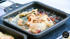 Gorgonzola-Speck-Raclettepfännchen mit Walnüssen