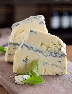 Imported by a Swiss cheese importer, Jersey Blue is made in the Valais region of Switzerland by Willi Schmid