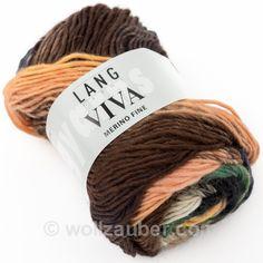 Reine Merino-Wolle in herrlichen Farbverläufen.   Qualität: 100% Schurwolle  Gewicht: 50g  Lauflänge: 110m  Nadelstärke: 4,5 - 5mm  Maschenprobe: 19 M / 26 R      Hinweis: Spezielle Farbbadnummer bitte erfragen