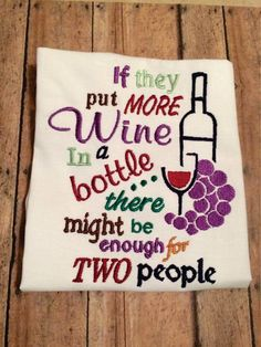 GG1312 Wine for 2 by GnGDesigns on Etsy