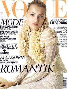 Anna Maria Jagodzinska for #VogueGermany #March2006